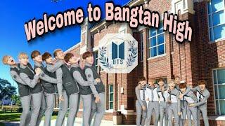[BTS DRAMA] Bangtan High episode 1