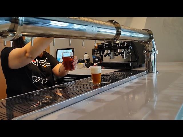 Cervezas Aérea en Torrejón. Visita a fábrica.
