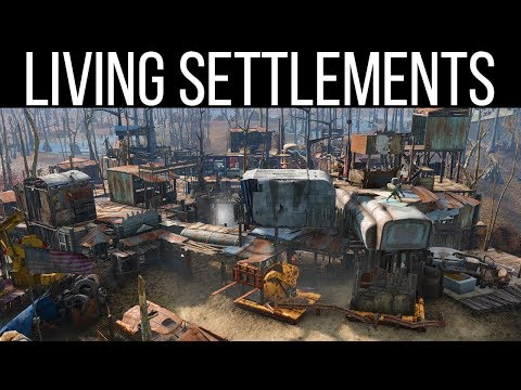 SELF BUILDING SETTLEMENTS - Fallout 4 Mods Weekly - Week 84 (PC/Xbox