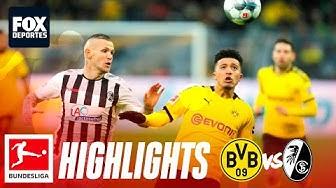 Borussia Dortmund 1-0 SC Freiburg | HIGHLIGHTS | Jornada 24 | Bundesliga