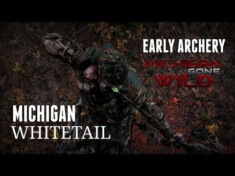Early Archery Whitetail: Michigan Deer Season