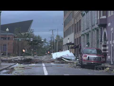 08-27-2020  Lake Charles, LA - Hurricane Laura Extreme Damage