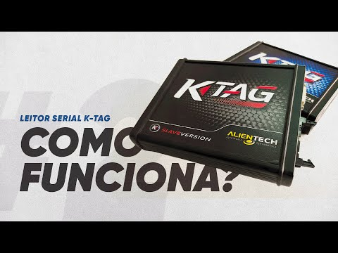 COMO FUNCIONA? #2 - Leitor Serial K-Tag