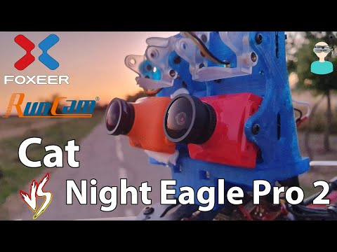 Foxeer Cat Vs. Runcam Night Eagle Pro 2 - Side By Side Comparison