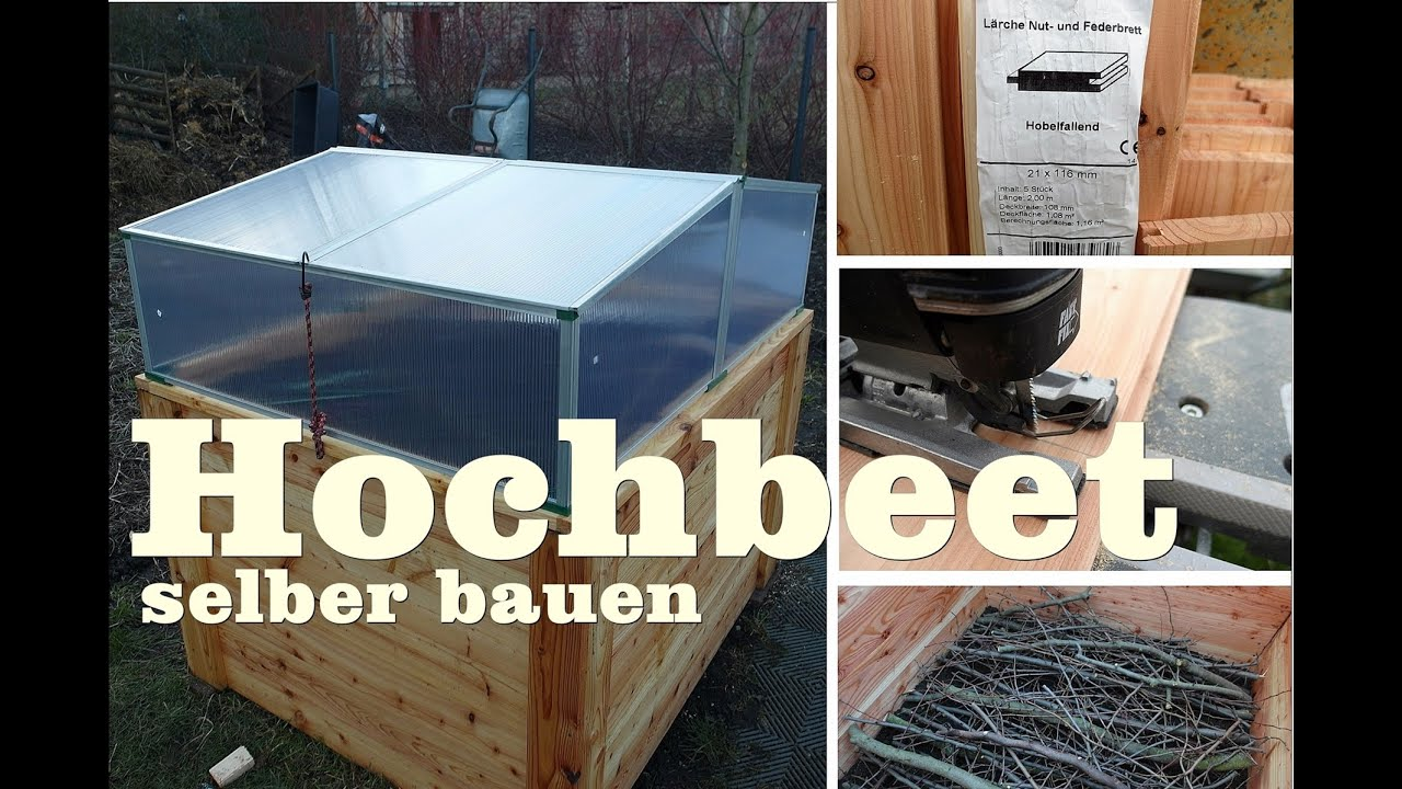 hochbeet mit fr hbeetaufsatz selber bauen gartentipp september 09 04 youtube. Black Bedroom Furniture Sets. Home Design Ideas