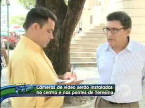 Vinte câmeras de vídeo serão instaladas no centro da cidade de Teresina