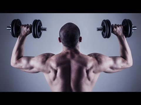 build wider shoulders with 5 free weight exercises  youtube