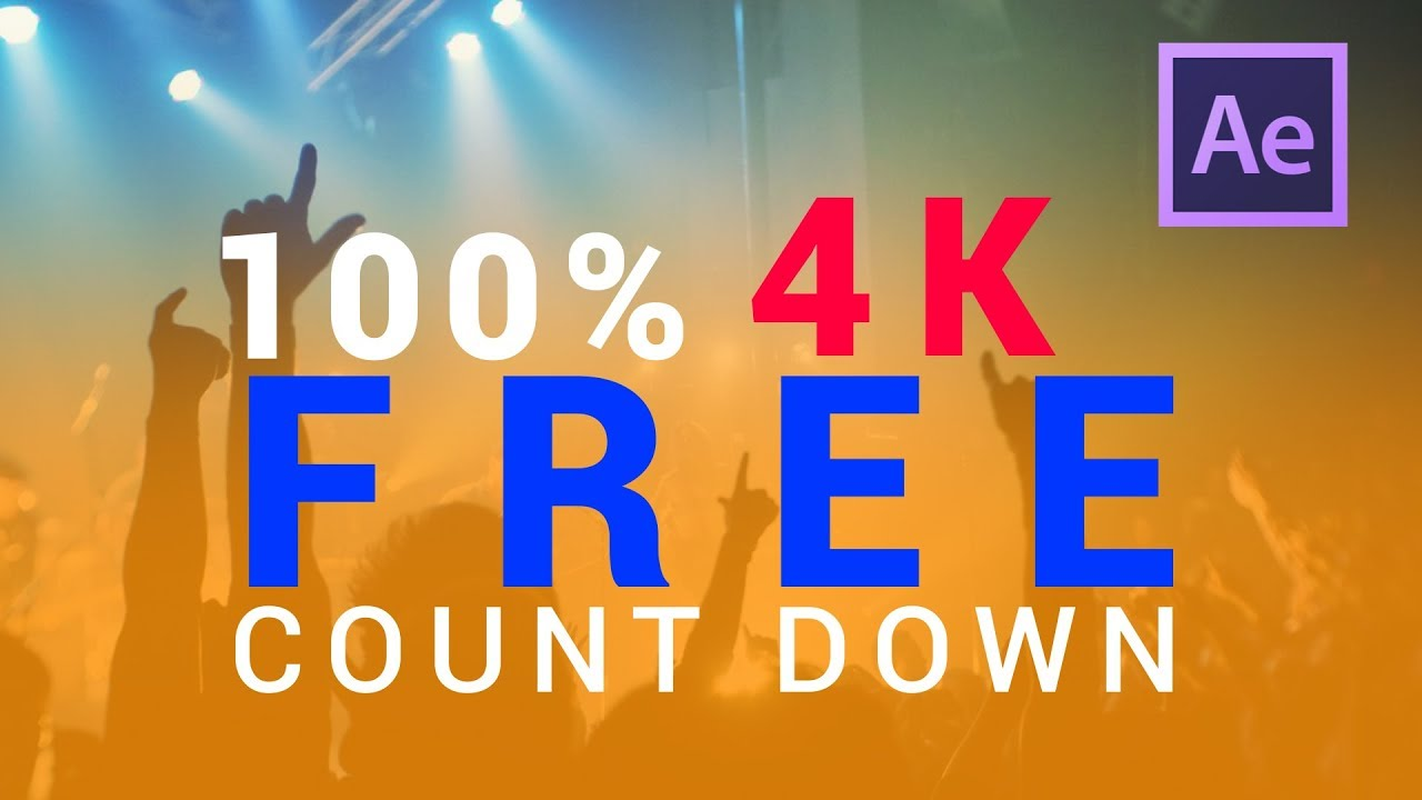 After Effects Countdown Template - Free Tempates Download