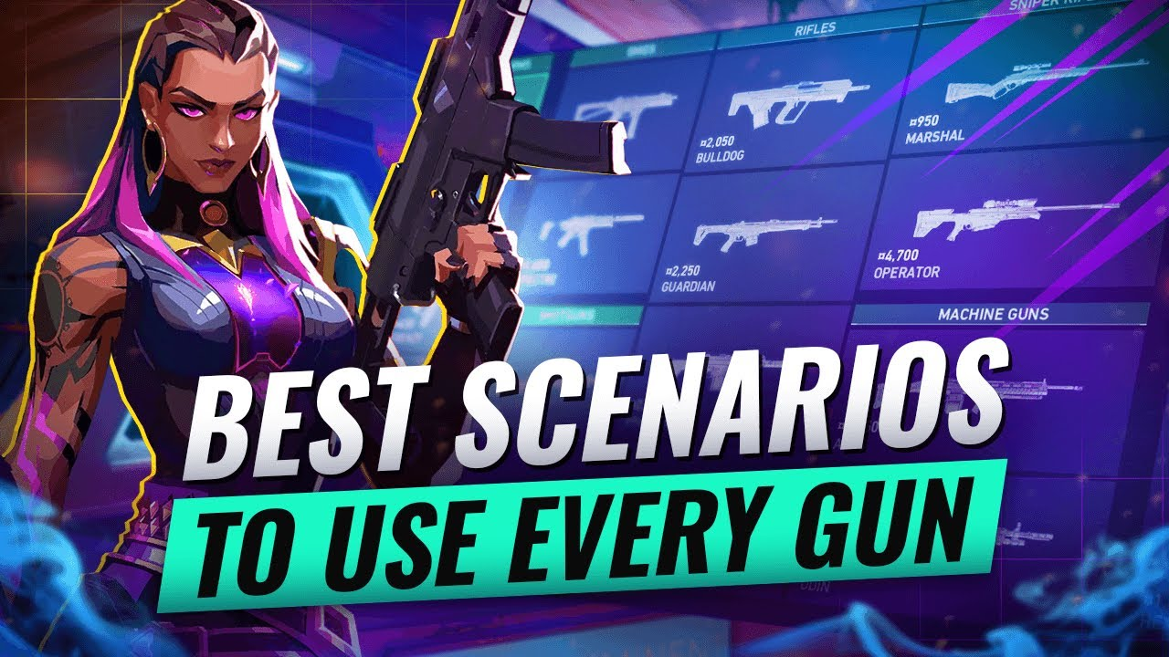 Download The BEST GUN For EVERY Situation! - Valorant Gun Guide