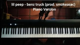lil peep - benz truck (prod. smokeasac) - Piano Version