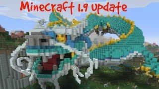 Minecraft 1.9 Review W/ Chinese Mythology Mash Up Pack