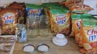Extending the Shelf Life of Couponed Foods for Preppers! :) 3 Methods of Food Storage! :)