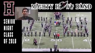 Mighty Hawk Band: Senior Night Class of 2018 11|10|17