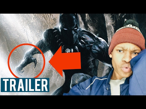 BLACK PANTHER TEASER TRAILER (REACTION)