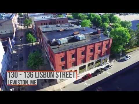 Commercial Real Estate - $375,000 for 130-136 Lisbon Street, Downtown Lewiston ME
