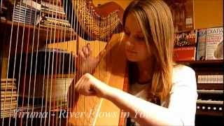 River Flows In You - Yiruma (Harp Cover)