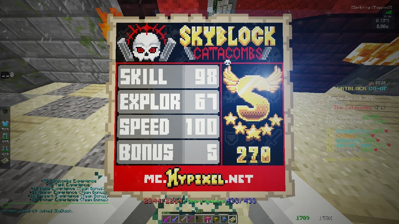 HOW TO S RANK EVERY DUNGEON! BETTER LOOT! (hypixel skyblock dungeon update)