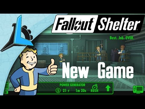 Fallout Shelter Ep 1- Let's Make a Vault (Gameplay) (1080)