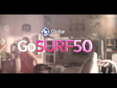 Globe Prepaid GoSURF50 With Spotify, Wattpad, And NBA League Pass