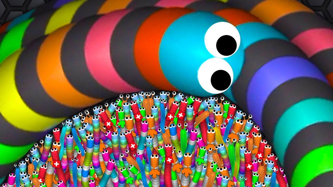 Slither.io A.I. 126,000+ Score Epic Slitherio Best Gameplay! #38