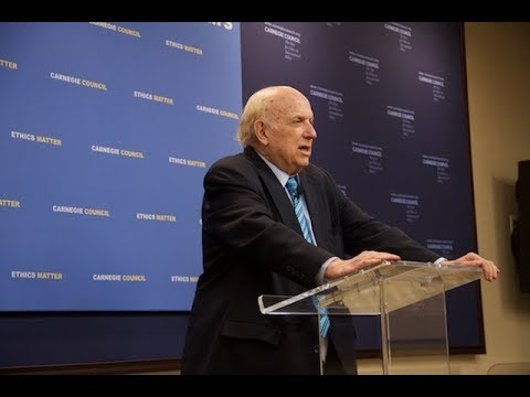 Global Ethics Forum: The Soul of the First Amendment with Floyd Abrams