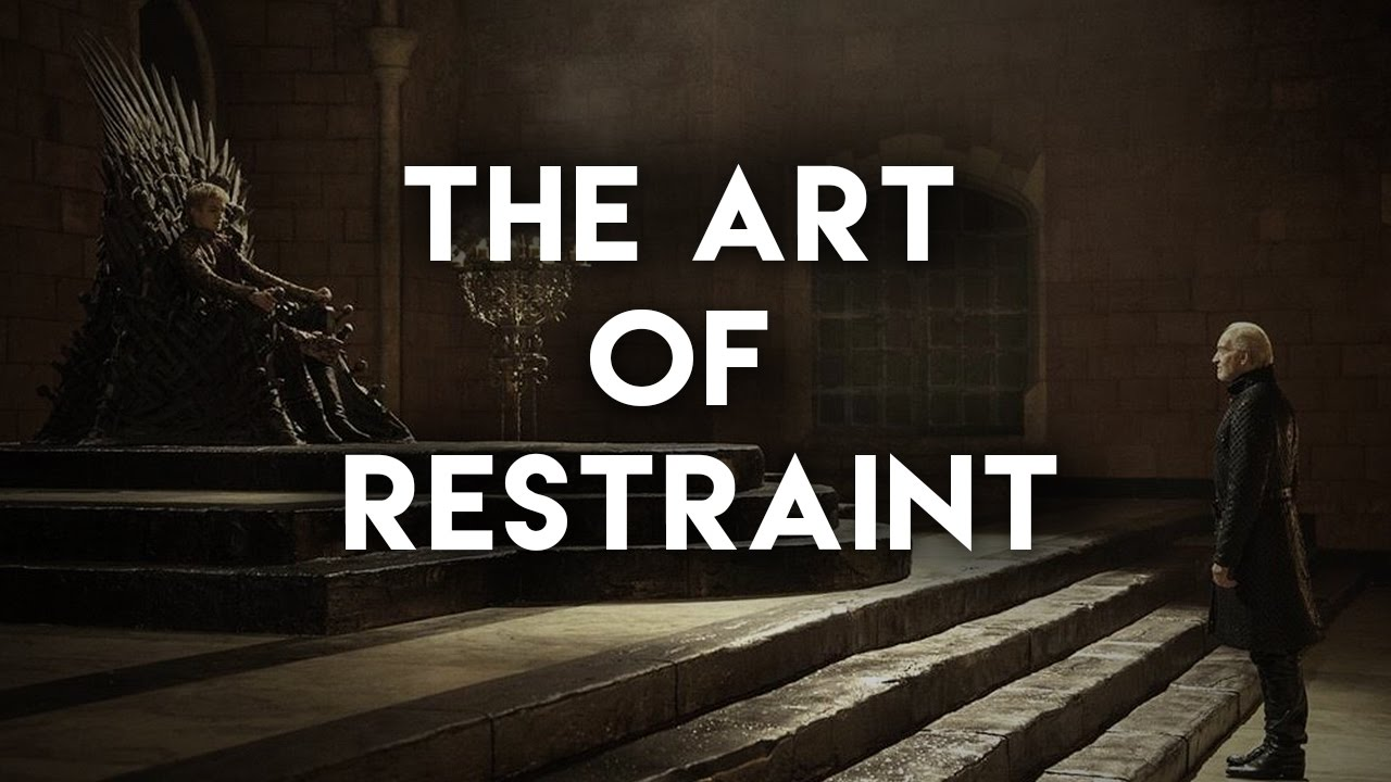 game of thrones the art of restraint video essay game of thrones the art of restraint video essay