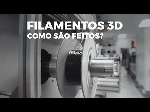Como são feitos os Filamentos 3D - Tucab
