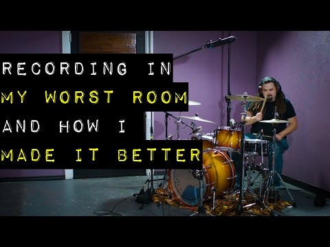 Recording in my Worst Room and How I Made it Better