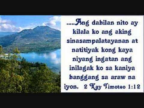 Bible Verses For The Philippines In Tagalog Youtube