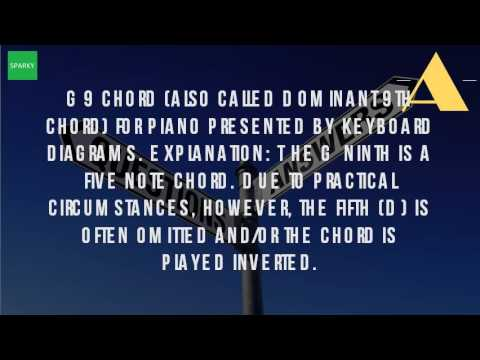 What Is A G9 Piano Chord Youtube
