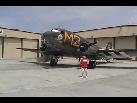 Palm Springs Air Museum C53 Flight