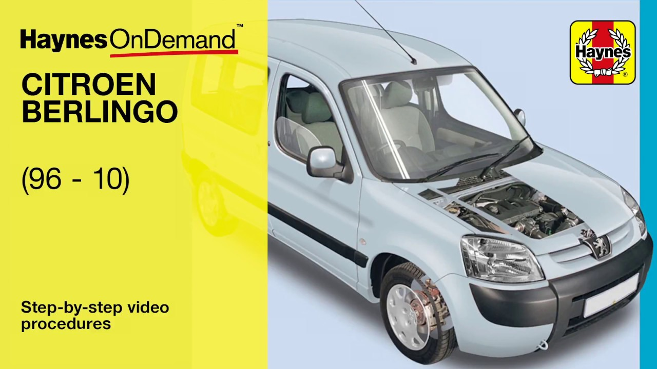 Free Wiring Diagram Citroen Berlingo