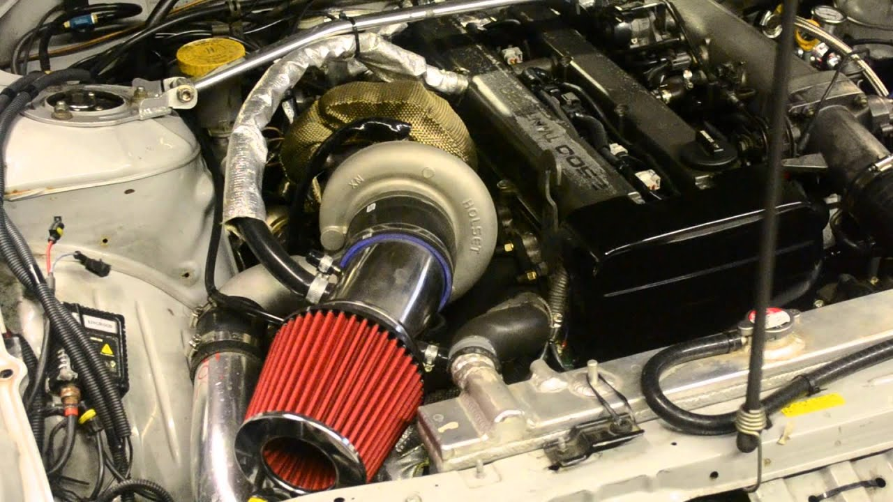 1jz being setup at 1 bar of boost, holset hx35 s14 silvia