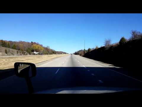 Bigrigtravels Live! - Van Buren to Springdale, Arkansas - Interstate 49 - December 1, 2016
