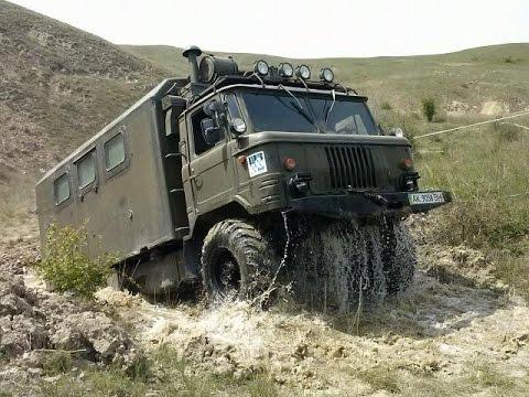 УАЗ 469 на базе ГАЗ 66