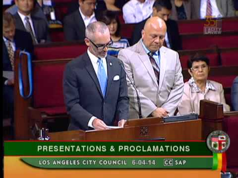 The First Inaugural River Day Event - Los Angeles City Council Presentation