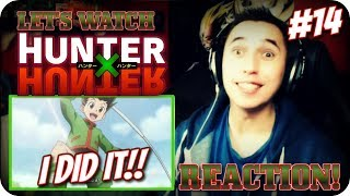 HOW TO HUNT!?| LET'S WATCH Hunter x Hunter Episode 14 REACTION!!