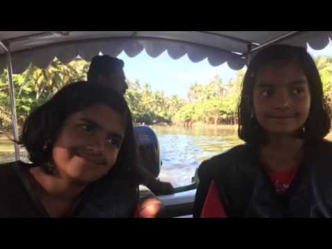Kerala back waters and the Arabian Sea