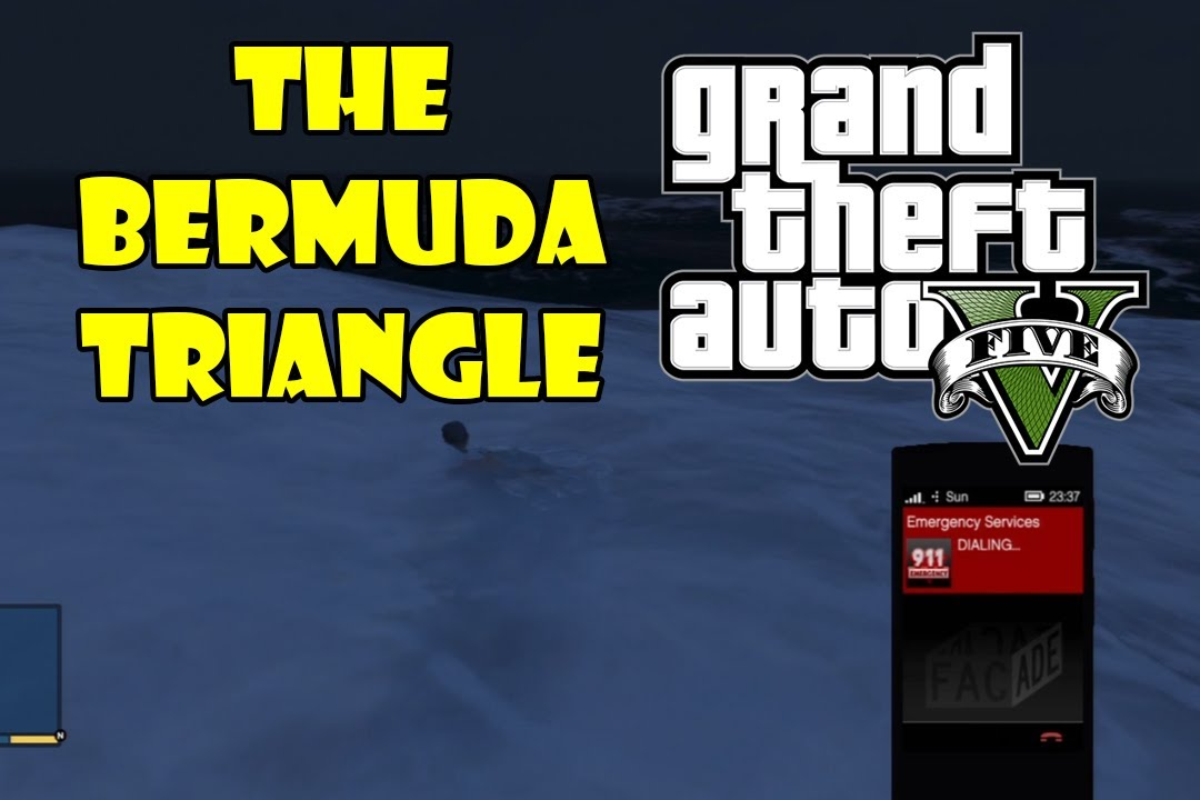 Gta 5 Myths Amp Legends Bermuda Triangle Youtube