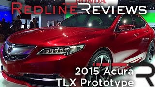 Acura TLX Prototype 2015 Videos