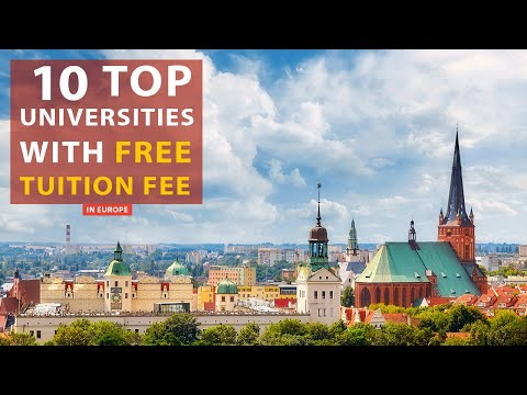 Top 10 Universities In Europe With Free Tuition Fee | Melshams
