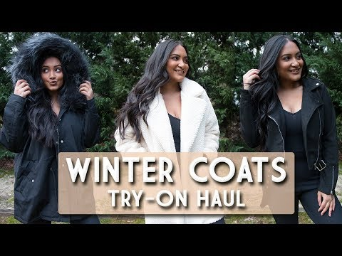 WINTER COATS TRY-ON HAUL
