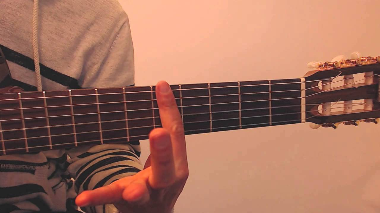 A Major 5th Fret Guitar Chord Tutorial 20 Second Lessons Youtube