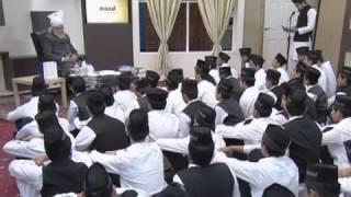Atfal Tour 2012: MAAD Klasse mit Hudhoor-e-Aqdas atba -
