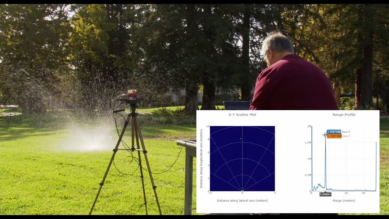 Sense the world with TI mmWave: See through rain and walls, and detect  small objects