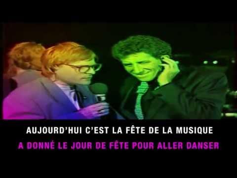 Jean-Pierre Sauser - La fête de la musique (karaoké)
