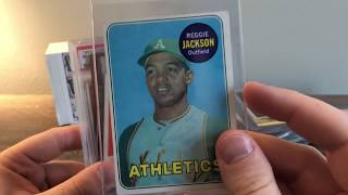 Pristine Auction Vintage Baseball Card Mystery Box! Review & Unboxing Reggie Jackson Rookie Card!
