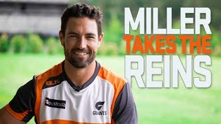 Miller Takes the Reins