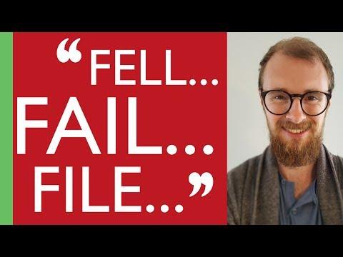 English Vowels Comparison: 'Fell' vs. 'Fail' vs. 'File'
