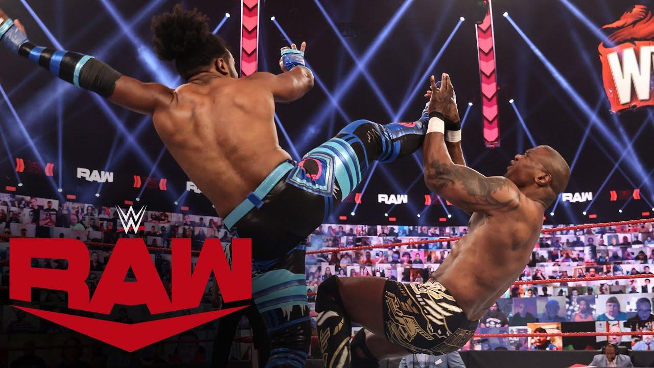 Xavier Woods vs. Shelton Benjamin: Raw, Mar. 8, 2021